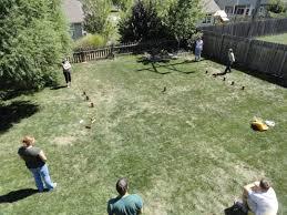 backyard games home outdoor decoration