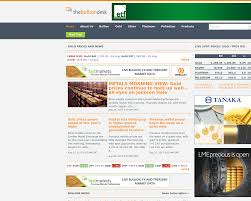 bullion desk live gold price the bullion desk advertising mediakits reviews pricing traffic