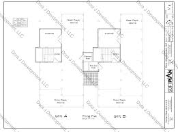Villa Floor Plan by Villa Floor Plans Of Corner Villas Surf City Topsail Island U0027s