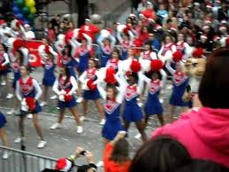 houston thanksgiving parade 2011 uca cheer