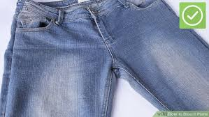 3 ways to bleach pants wikihow
