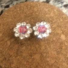 flirties earrings 60 jewelry pi phi flirties earrings from c s closet on