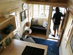 tiny home 2 story this tiny house on wheels is nicer than most studio apartments