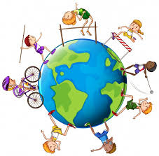 different kinds of sports around the world illustration vector