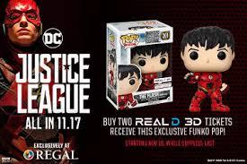 Regal Barn Plaza Justice League Regal Exclusive The Flash Funko Pop Figurine