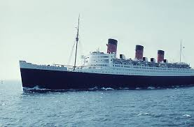 queen mary on the north sea 1959 england my england