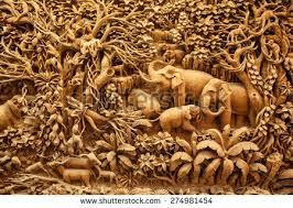 carved wood framed wall wood carving stock images royalty free images vectors