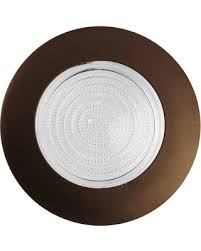 oil rubbed bronze recessed lighting trim great deals on nicor 6 recessed fresnel shower trim oil rubbed bronze
