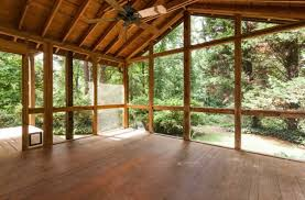 Screened In Patios How To Clean A Screened Porch The Diy Bungalow