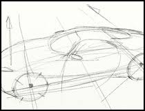 concise car sketching review