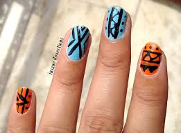 tribal nail art insane dissections