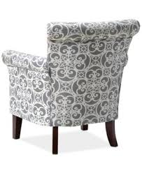 Printed Accent Chair Jla Sarah Printed Fabric Accent Chair Direct Ship Furniture