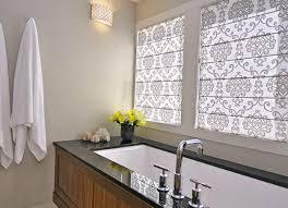 Bathroom Window Blinds Ideas Bathroom Fabulous Bathroom Decorating Idea Window Treatments As