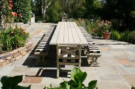 Outdoor Dining Bench by Outdoor Dining Table Outdoor Dining Table Building Plans Youtube