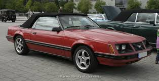 1983 mustang glx convertible value 1983 ford mustang glx convertible car autos gallery