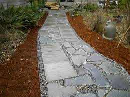 Patio Pavers Ideas by Decor Attractive And Incredibly Durable With Slate Stepping