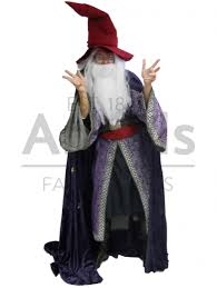 purple wizard costume angels fancy dress our gallery of character hire costumes