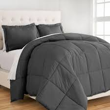 Full Xl Comforter Sets Down Alternative Premium Ultra Soft Comforter Set Bare Home