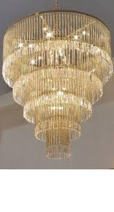 Modern Dining Room Chandeliers Swarovski Drunken Rings Crystal Chandelier Ummm Yeah Dream