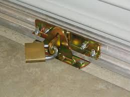 Sliding Patio Door Security Locks Roller Garage Door Security Locks Http Franzdondi