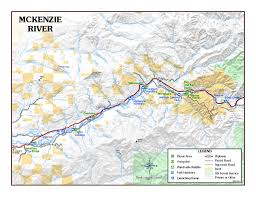 Oregon Blm Maps by Mckenzieriver Map The River Visitor Is Apt To Be Rewarded U2026 Flickr