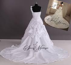 robe de mari e sissi robe du mariage princesse sissi bustier brodé argent et dentelle