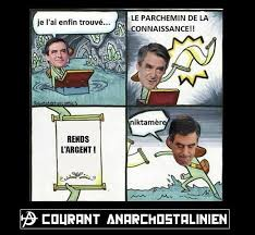 Meme French - fran礑ois fillon s scroll of truth 2017 french presidential