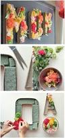 25 unique flower letters ideas on pinterest baby room letters