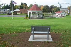 city of sherrill memorial bench