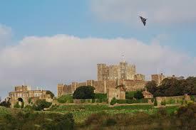 dover castle vulcan over dover castle the looker