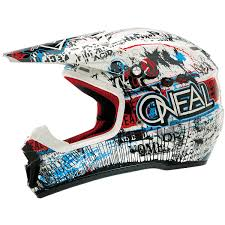 ebay motocross helmets oneal mx gear 5 series acid blue red motocross dirt bike off road