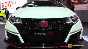 honda civic 2016 type r 2016 honda civic type r exterior and interior walkaround 2015