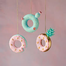 cactus pineapple watermelon donut ornament glitterville shop