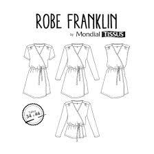 patron robe de chambre femme gratuit patron robe franklin linna morata mondial tissus