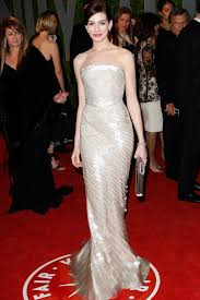 Anne Hathaway Vanity Fair 50 Best Red Carpet Dresses Of All Time Look