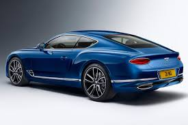 bentley coupe blue gentleman u0027s express v2 0 2018 bentley continental gt revealed by