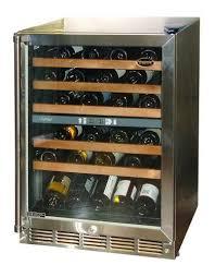 Vinotemp VT45 DualZone 45Bottle FrontVenting Wine Chiller