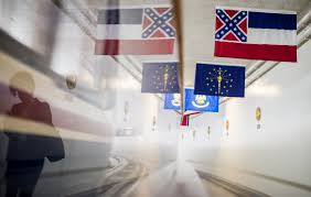 Missippi State Flag Confederate Flags Are Coming Down Here U0027s The Latest By State Vox