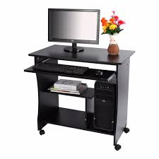 1pc home study office furniture computer desk with book shelves