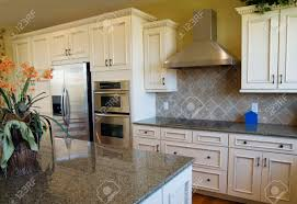 luxury kitchen design stock photo picture and royalty free image