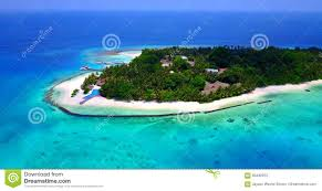v06365 aerial flying drone view of maldives white sandy beach
