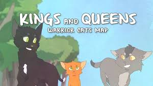Queens Map Kings And Queens Warrior Cats Map Complete Youtube