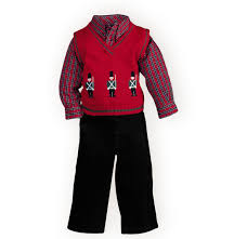 opulent toddler boy christmas sweater sweet stately toy soldiers