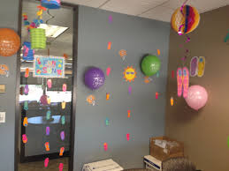 office birthday decorations summer themed my own dyi and my