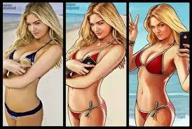 who is the blonde in the game of heroes commercial is the blonde grand theft auto v girl featured in the actual game