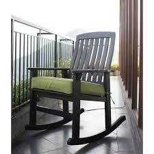 Outdoor Rocker Chair Better Homes And Gardens Delahey Wood Porch Rocking Chair