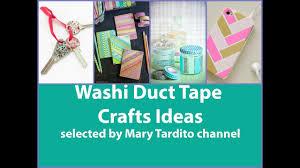 washi tape crafts ideas u2013 diy duct tape crafts to make youtube