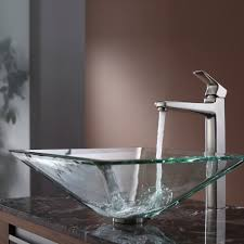 Clear Glass Bathroom Sinks - my top favorite coolest bathroom sinks