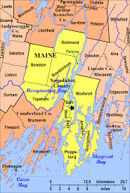 Map Of Maine Cities Sagadahoc County Parks Image Gallery Hcpr