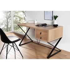 bureau 120 cm design en bois de chêne lino 120 cm